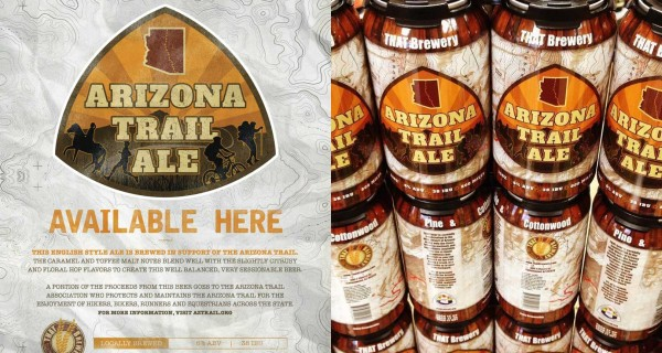 Az Trail Poster And Cans