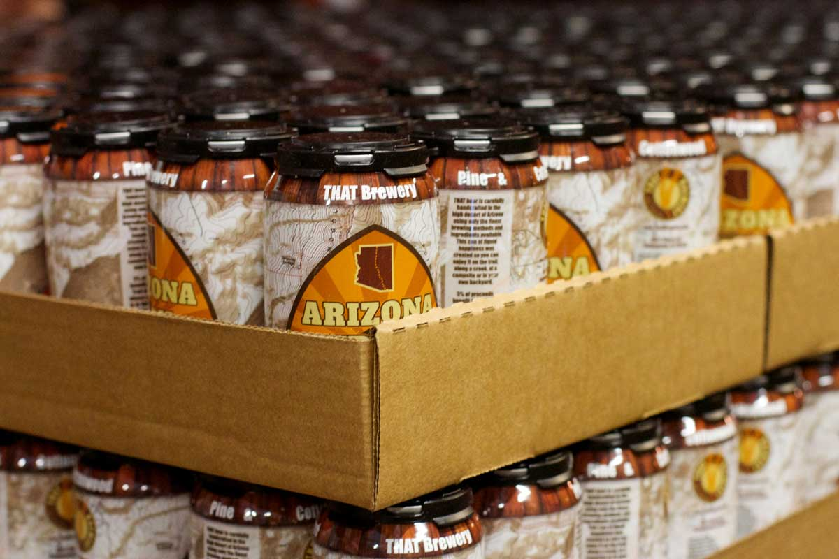 Cans! Cans! Cans! Arizona Trail Ale Is In Cans!