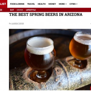 Thrillist Cites THAT Strawberry Blonde Among Best Of Spring Beers