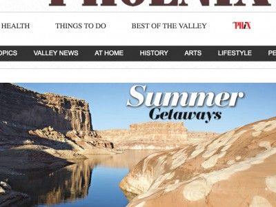 In Phoenix Magazine's 2015 Summer Getaways