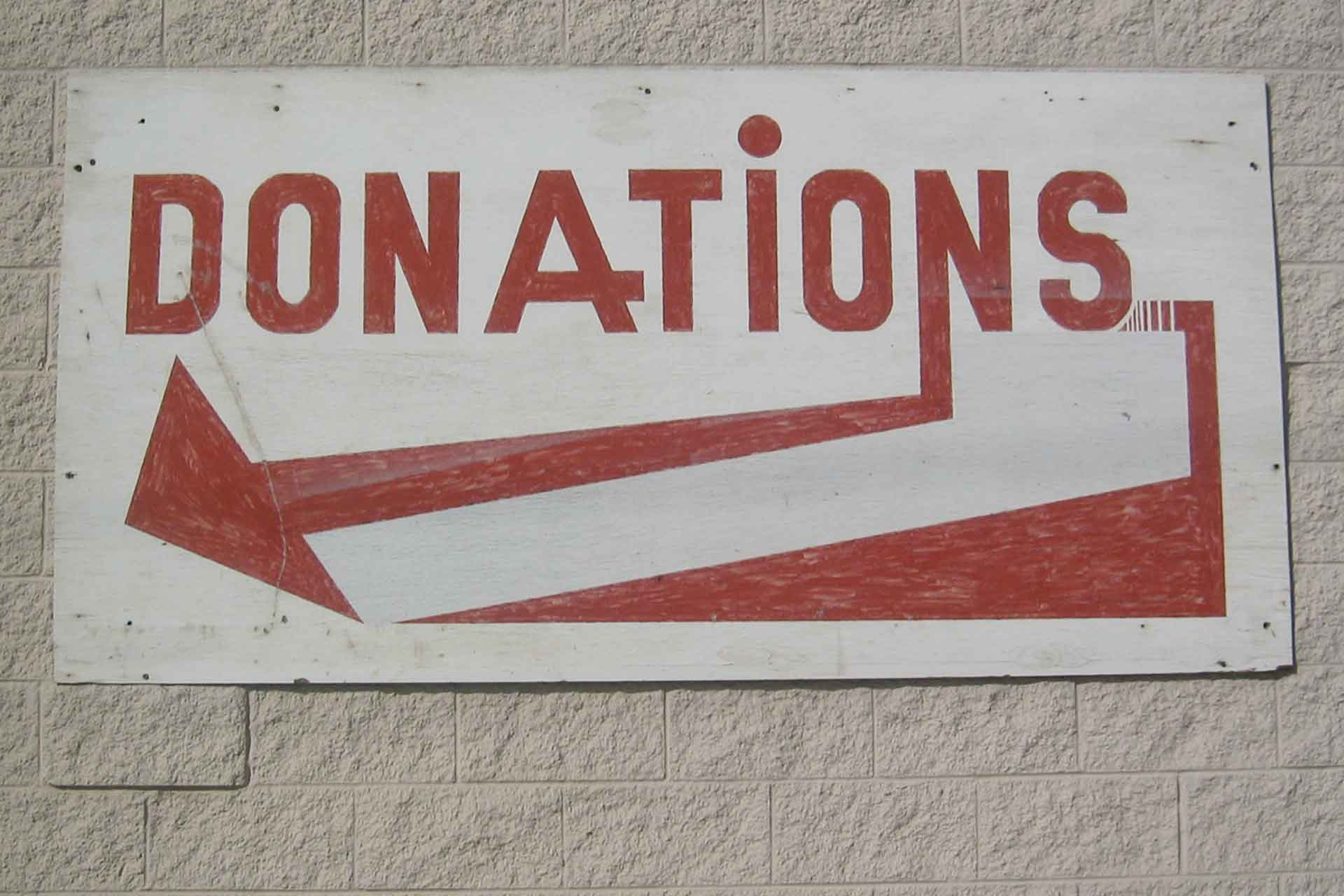 Company Donation Policy – THAT Brewery
