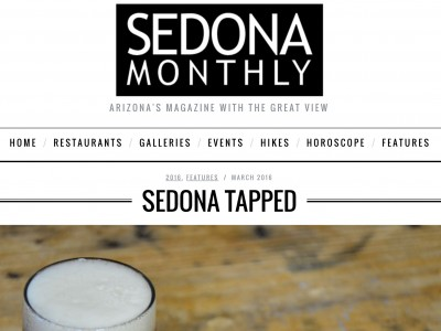 THAT Brewery Featured In Sedona Monthly