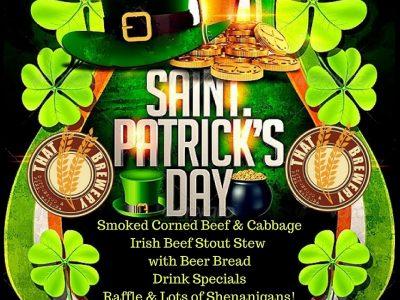 Saint Patrick's Day Celebration In Pine, Arizona, At THAT Brewery & Pub