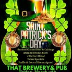 Saint Patrick's Day Celebration In Pine, Arizona, At THAT Brewery & Pub