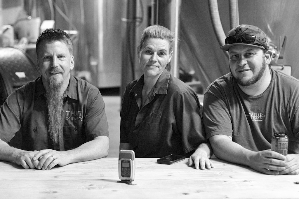 Steve, Misty, And John Are The Brew Crew At THAT Brewery In Cottonwood, AZ.