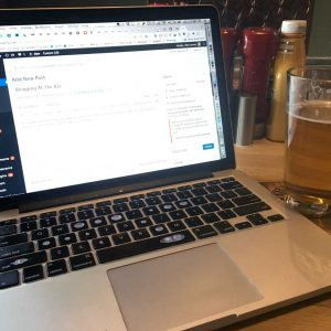 Blogging At The Bar