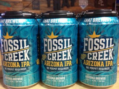 This Just In… THAT Fossil Creek IPA In Luscious Blue Cans